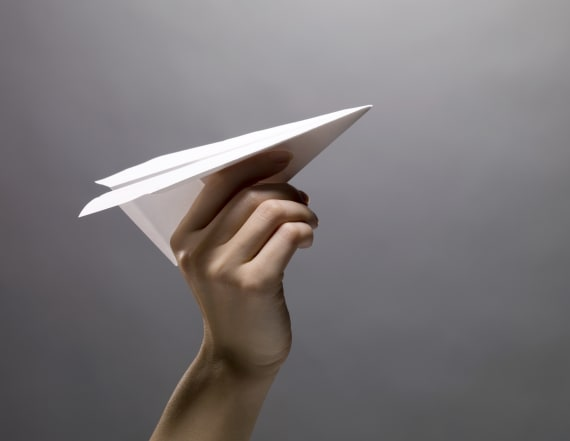 Student arrested after paper plane hits teacher