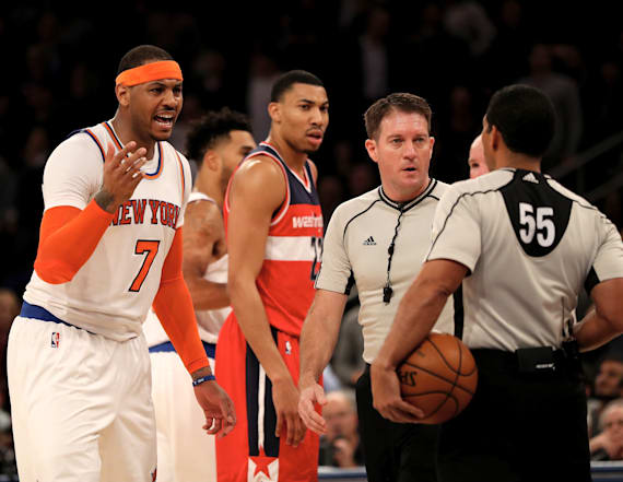 Knicks lose after being tricked by opposing coach