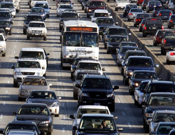 The most congested city in the US revealed