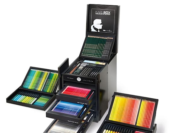Karl Lagerfeld is selling a pencil box for $3,325