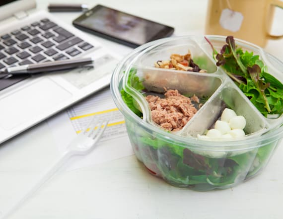 Your sad desk lunch could actually be killing you