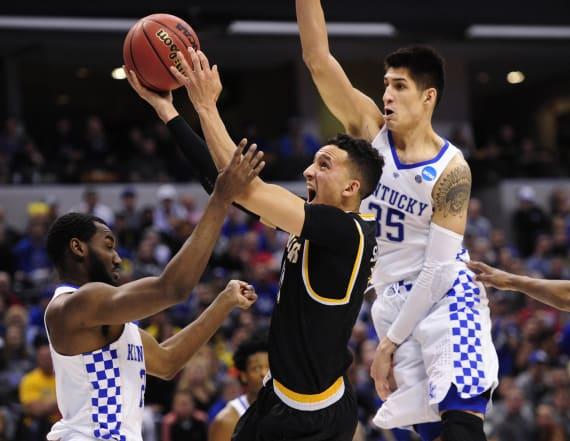 Kentucky suffocates Wichita State