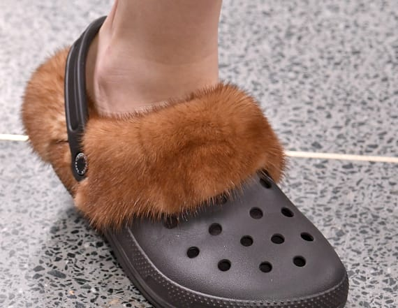 Furry crocs are the next fashion trend