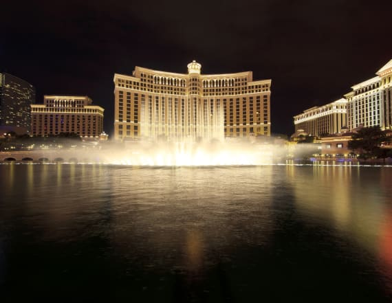 Armed burglary at Bellagio, Las Vegas, sends panic