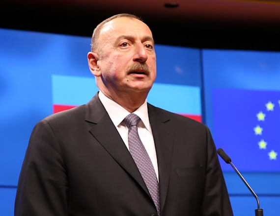 President of Azerbaijan picks wife to be his VP