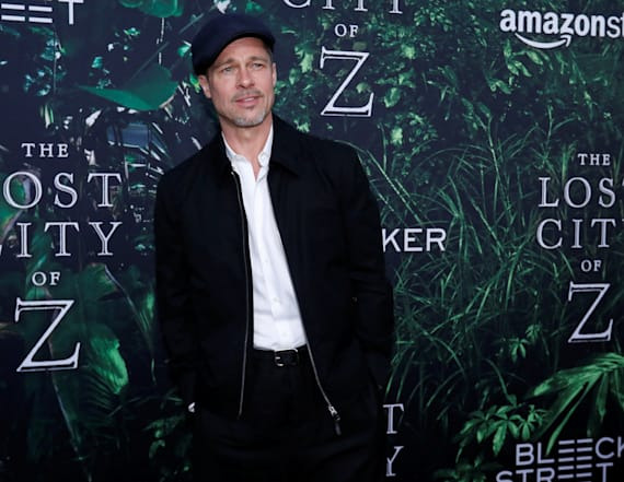 Brad Pitt has first overnight visit with his 6 kids