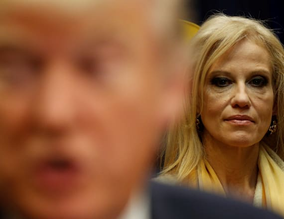 Kellyanne Conway reportedly banned from TV