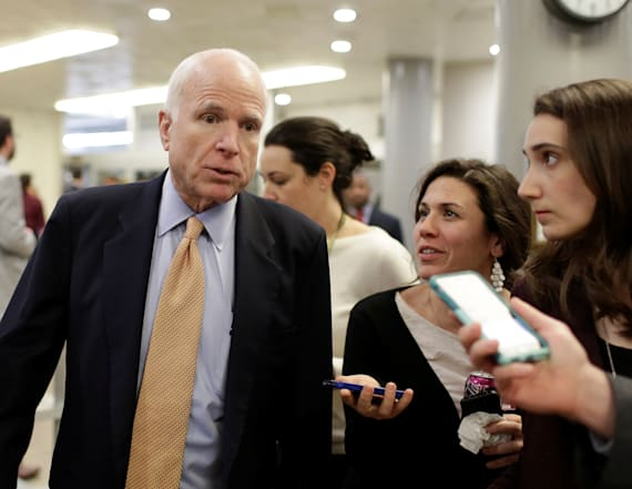 McCain: Trump's actions 'how dictators get started'
