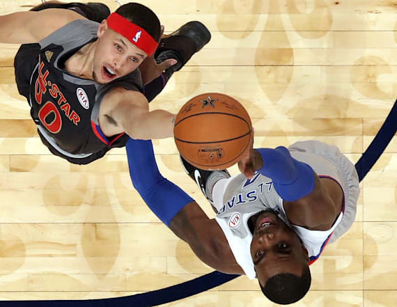 West tops East in high-scoring NBA All-Star Game