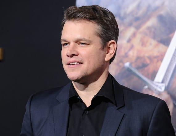 Matt Damon talks 'The Great Wall'