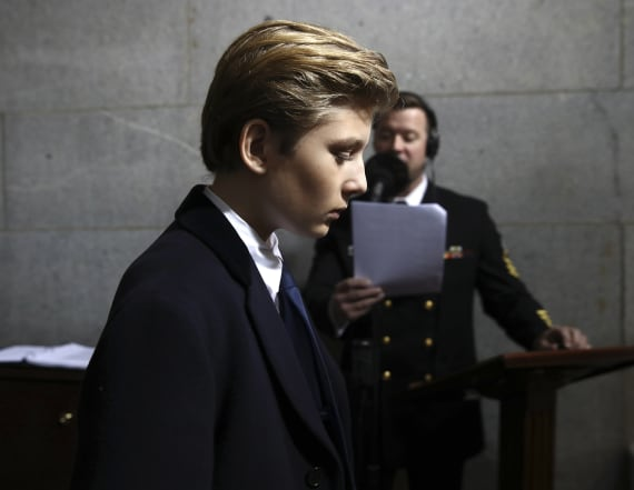 'SNL' writer deletes tweet about Barron Trump