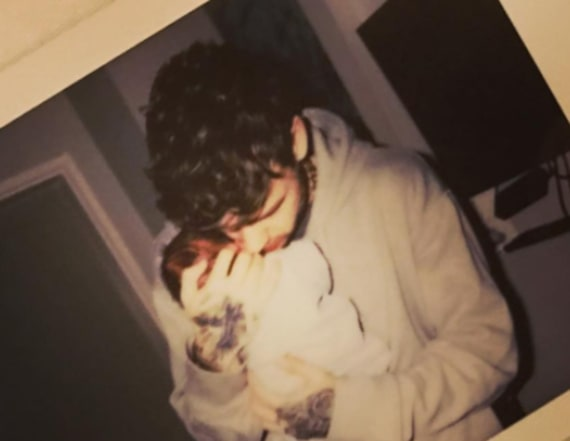 Liam Payne and Cheryl Cole welcome first child