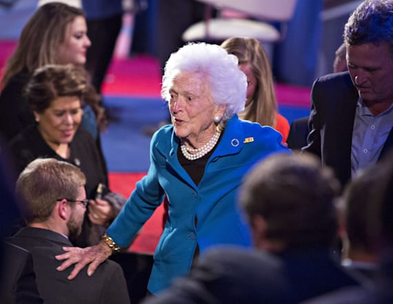 New details emerge on Barbara Bush's health