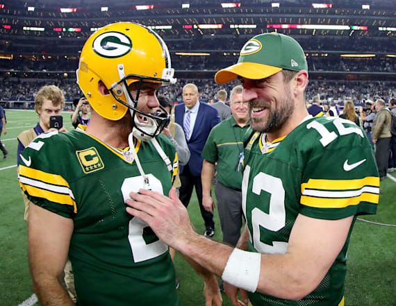 Packers upset Cowboys 34-31 as Rodgers shines