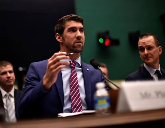 Phelps testifies to Congress about anti-doping