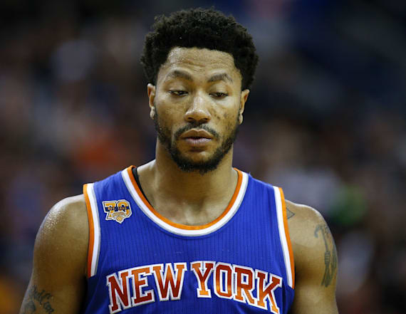 Derrick Rose was 'distressed' while visiting Chicago