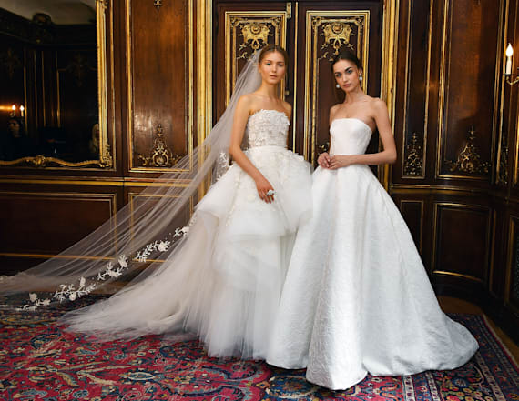 The absolute prettiest dresses from Bridal Week