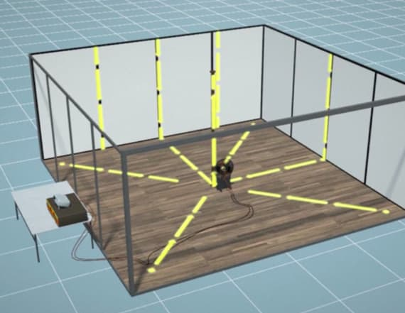 Researchers turn room into wireless charging station