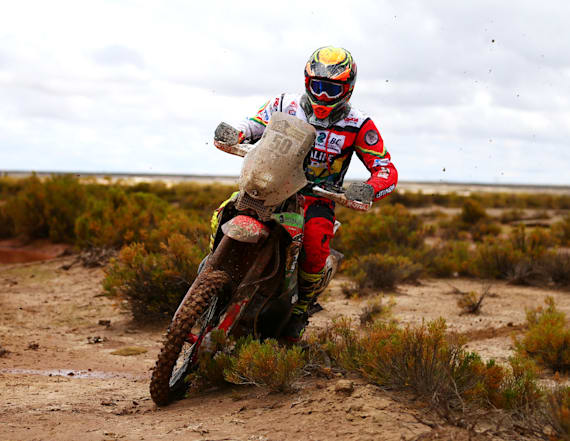 French driver increases lead at Dakar Rally