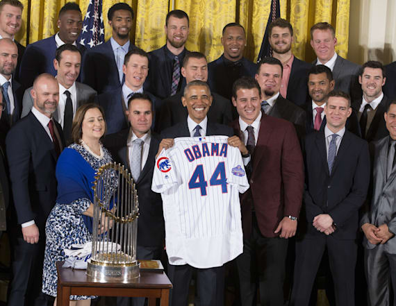 Why two Cubs players didn't visit the White House