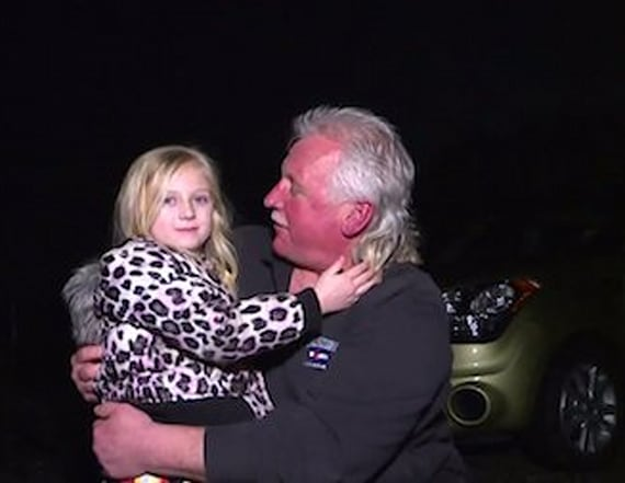 Driver rescues 5-year-old on late-night adventure
