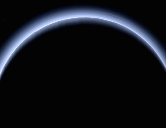 NASA releases stunning 'farewell to Pluto' photo