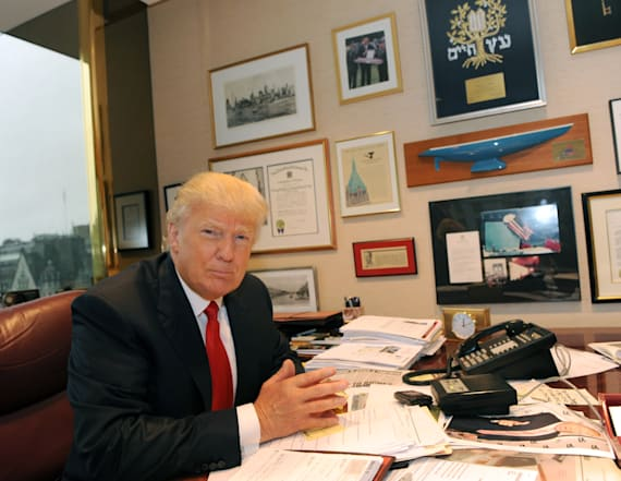 What will Trump do on his first day in office?