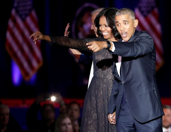 Poll reveals how popular Obamas are as move on