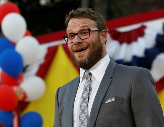 Rogen tweets Trump's son to ask father to resign