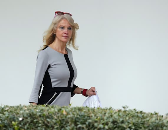 Conway blasted by the president of her alma mater