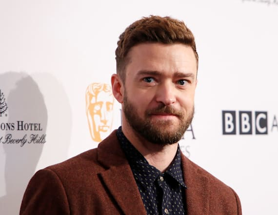 Justin Timberlake gets choked up at these two words