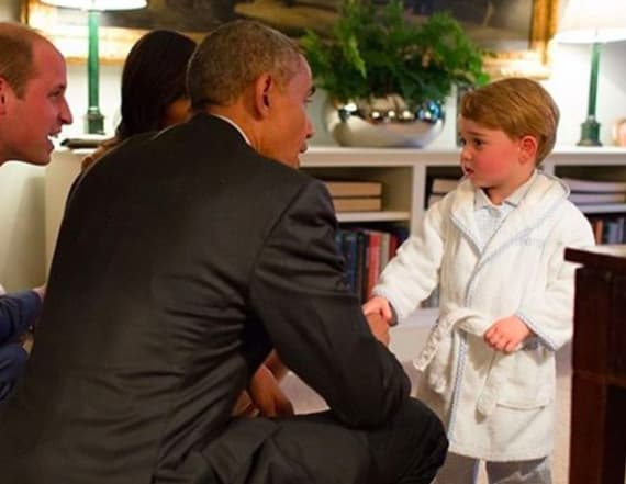 Prince George's dressing gown raised millions