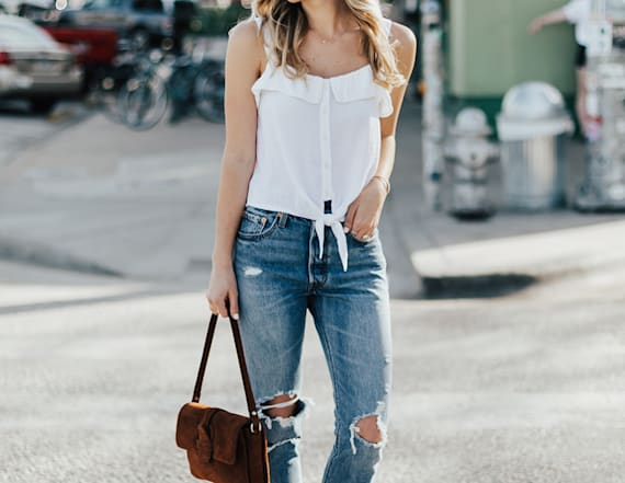 Street style tip of the day: Spring denim