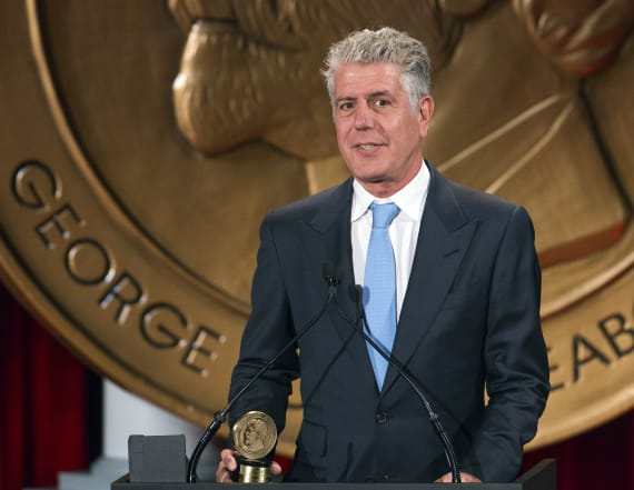 Bourdain advises Trump to read daily brief