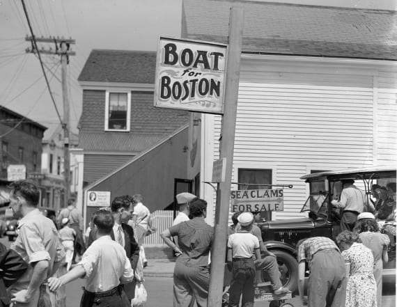 Flashback to 1940s Provincetown, Cape Cod