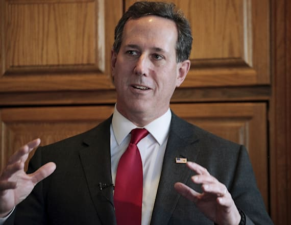 Santorum's answers during CNN segment raise eyebrows