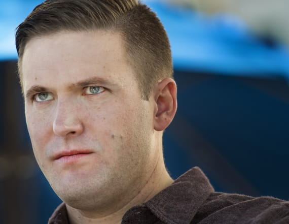 White nationalist punched in face during interview