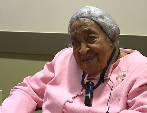 105-year-old woman shares her secret to a long life