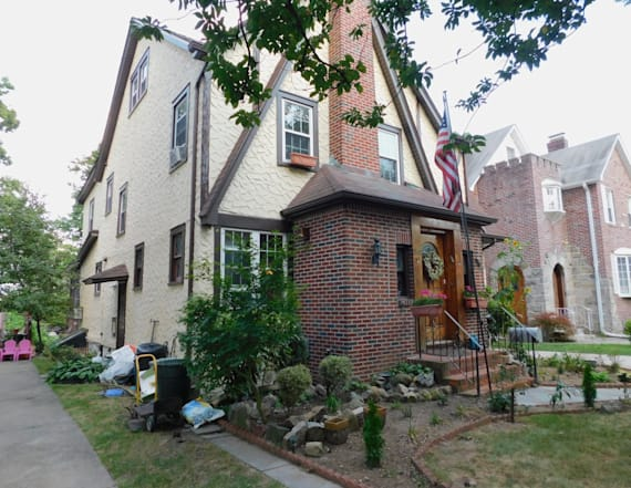 Trump's childhood home goes up for auction