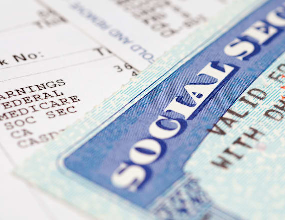 Average Social Security payment in 2017