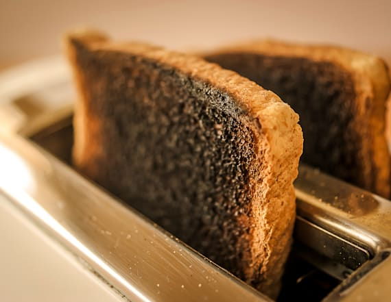 Burnt toast may be a cancer risk