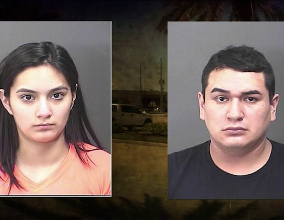 Couple left infants alone in truck while shopping