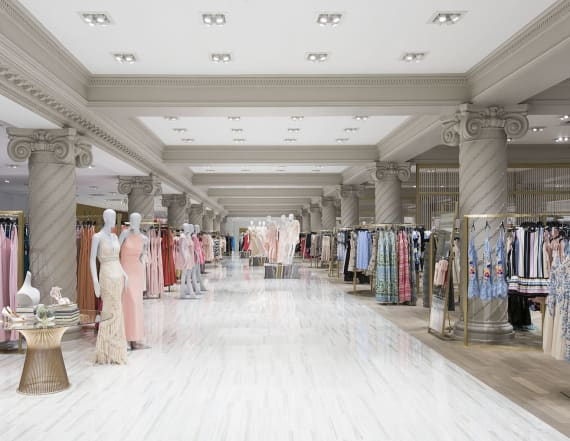 Major store home to 'NY's largest dress destination'