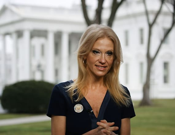 Conway 'didn't see the point' of the Women's March