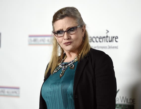 Carrie Fisher may have predicted her own death