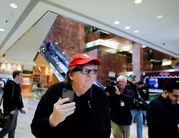 Michael Moore speaks out on raucous town halls