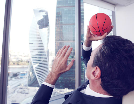 March Madness ranked as No. 3 time waster at work