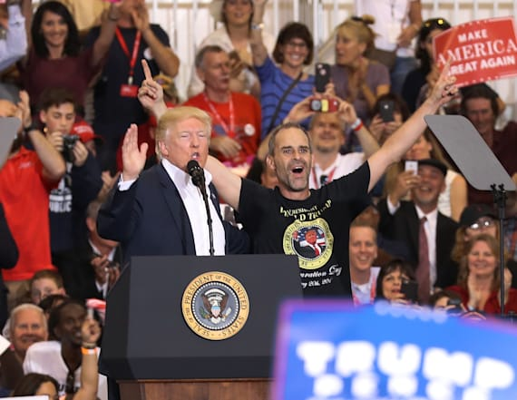 Trump surprised big supporter at his Florida rally
