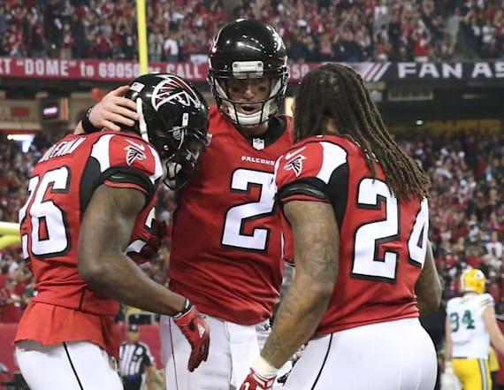 Falcons dominate Packers to advance to Super Bowl LI