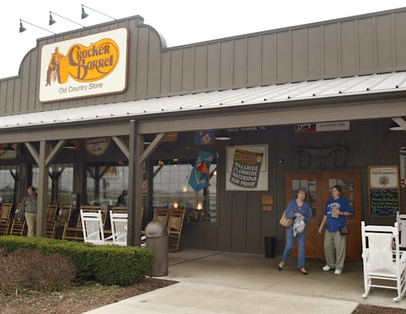 Cracker Barrel slammed for firing man's wife